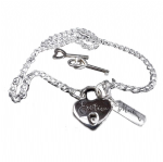 EROTICA  - OFFICIAL LOCK & KEY NECKLACE